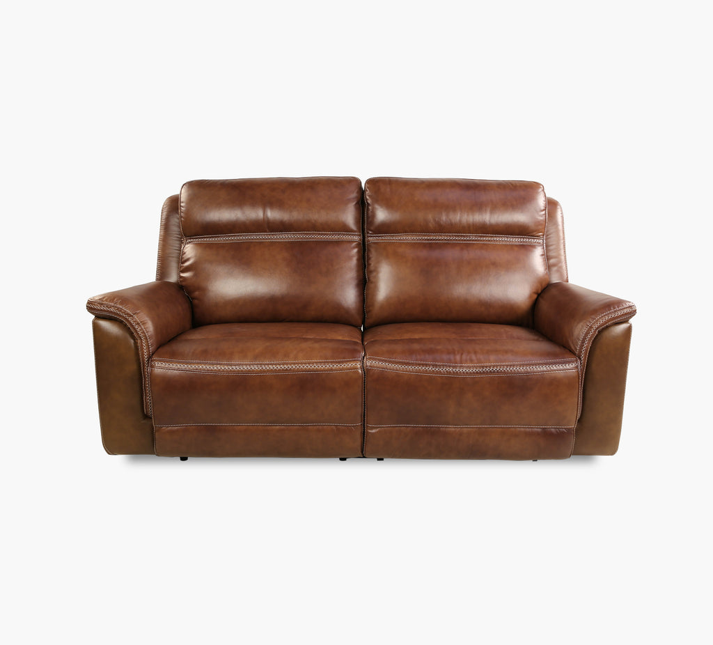 Sequoia Power Reclining Leather Sofa With Power Headrest