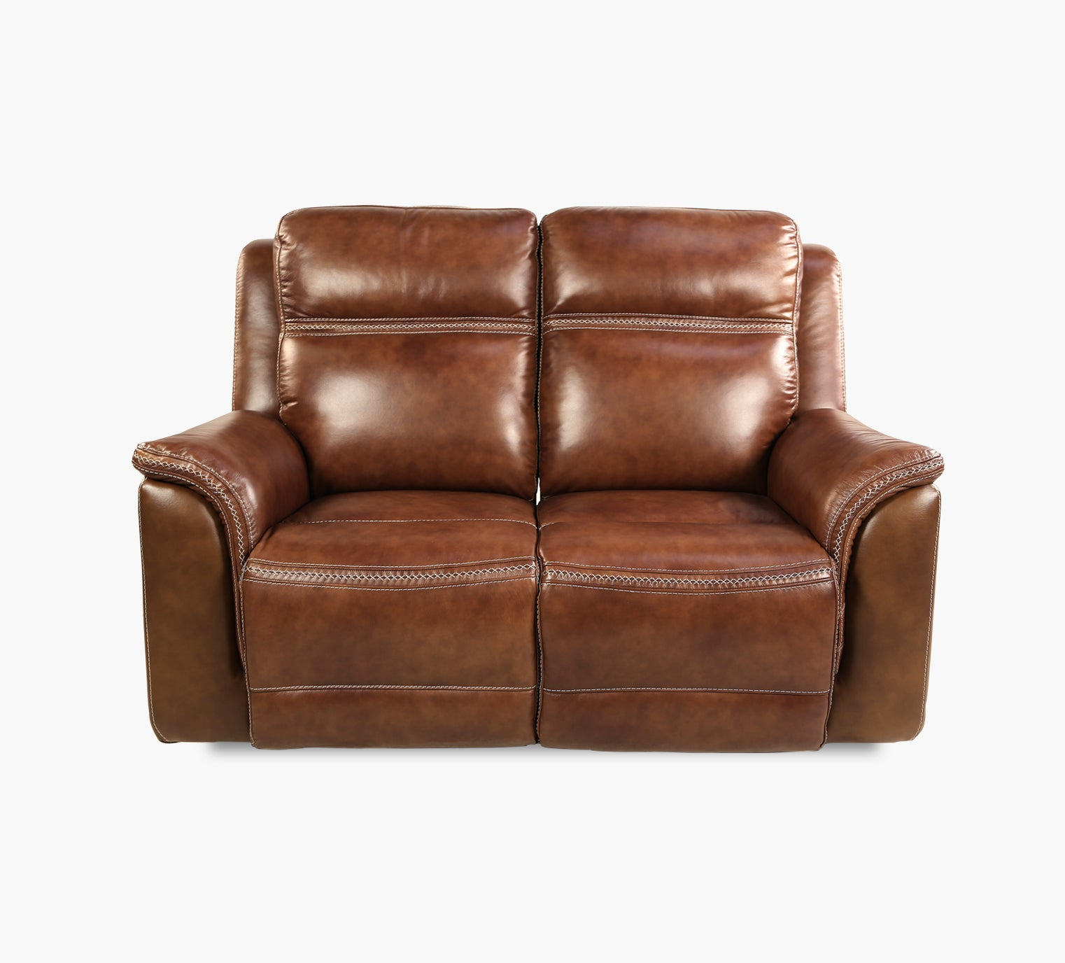 Sequoia Leather Dual Power Reclining Sofa Kane S Furniture