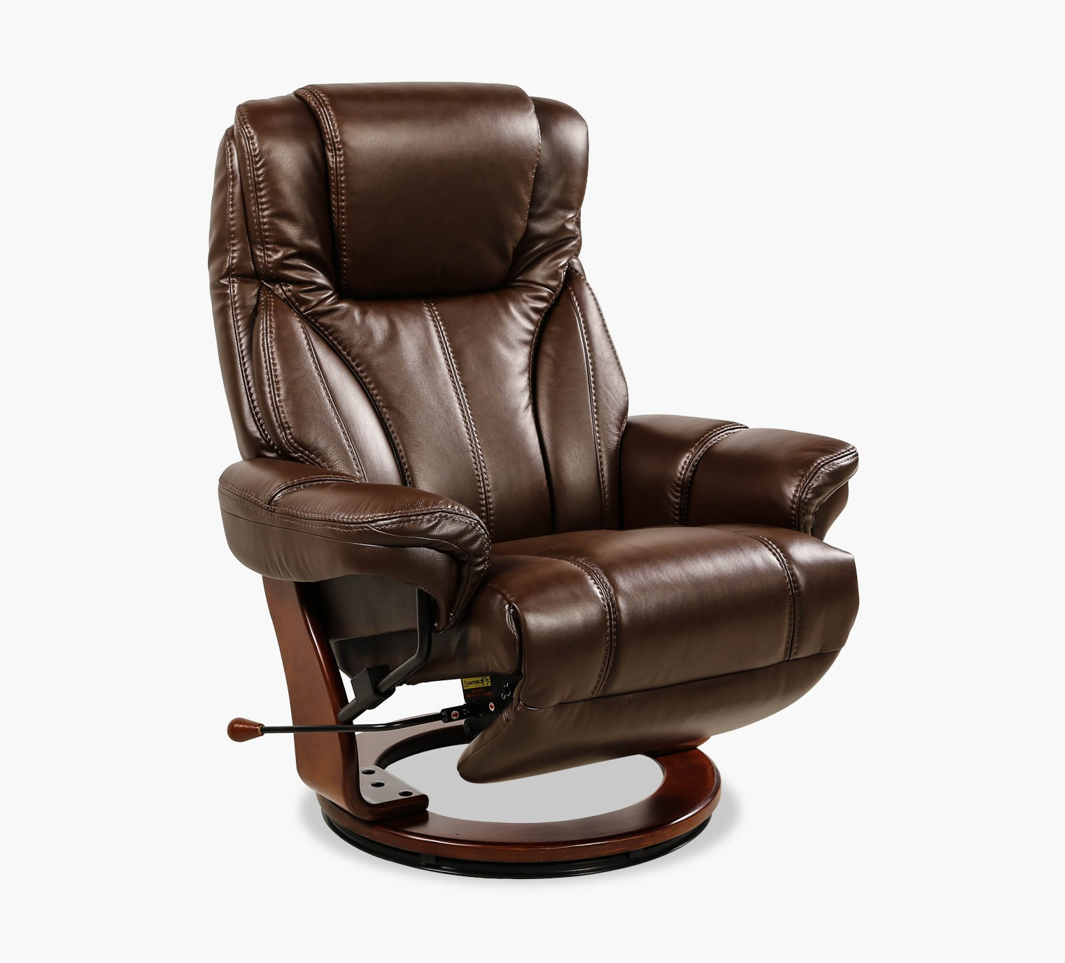 Magnificent Carter Leather Swivel Chair Recliner Unemploymentrelief Wooden Chair Designs For Living Room Unemploymentrelieforg