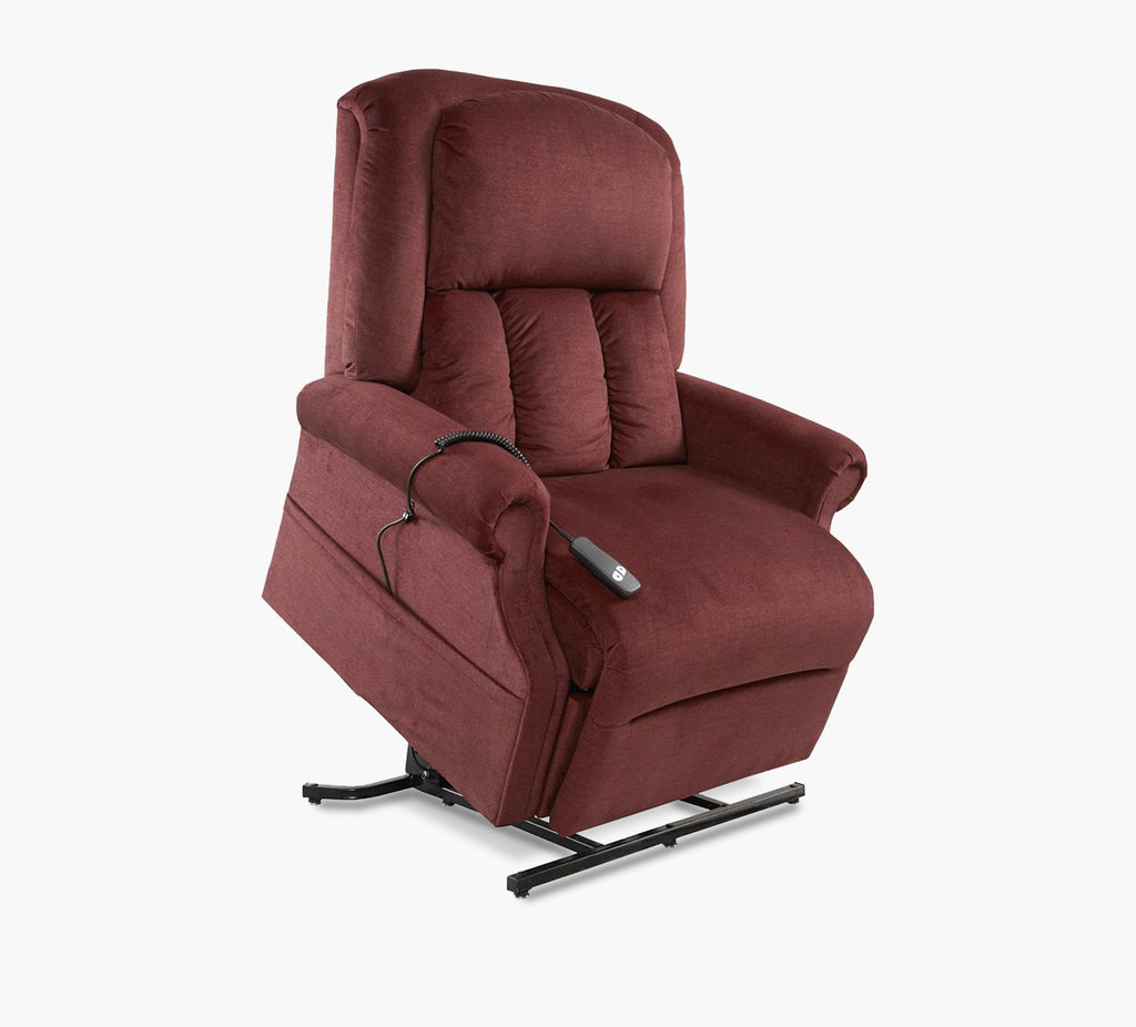 Roscoe Bordeaux Power Recline Lift Chair Kane S Furniture