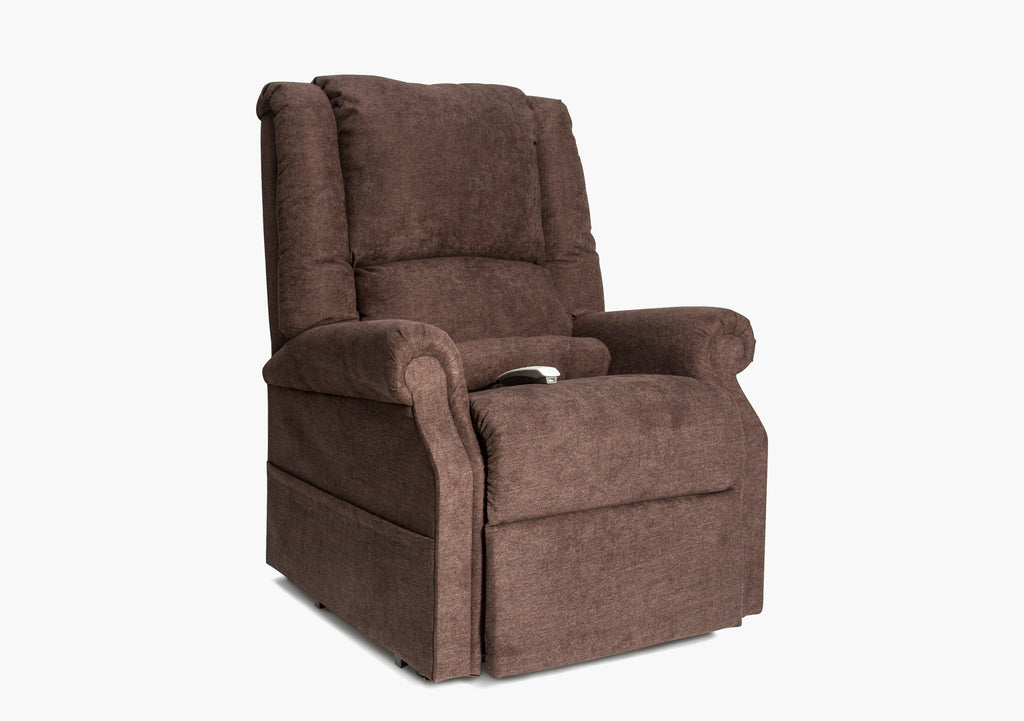 Brooks Chocolate Power Lift Recliner 33 5 Quot Kane S Furniture