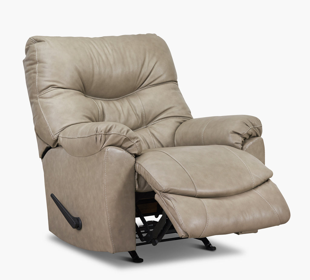 Topher Taupe Rocker Recliner Kane S Furniture
