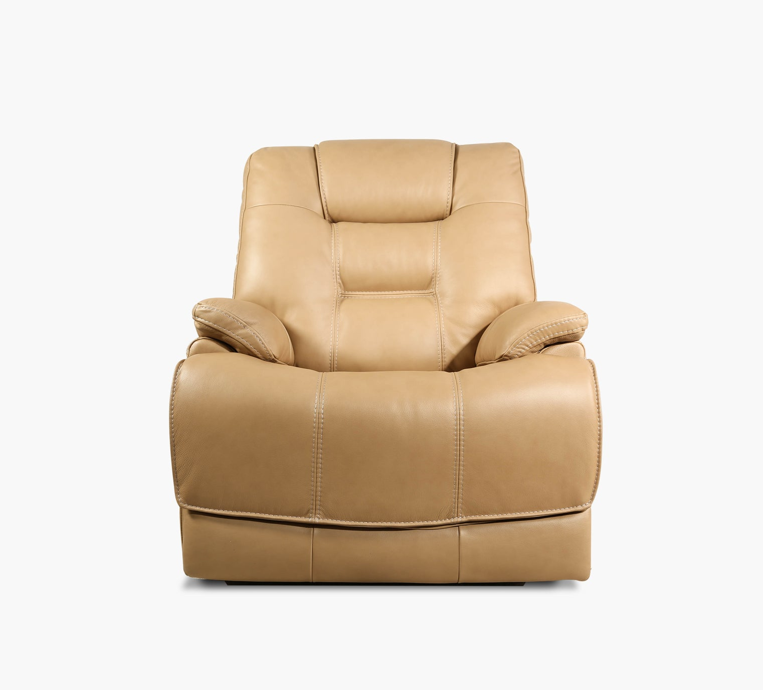 Zane Leather Triple Power Recliner Kane S Furniture