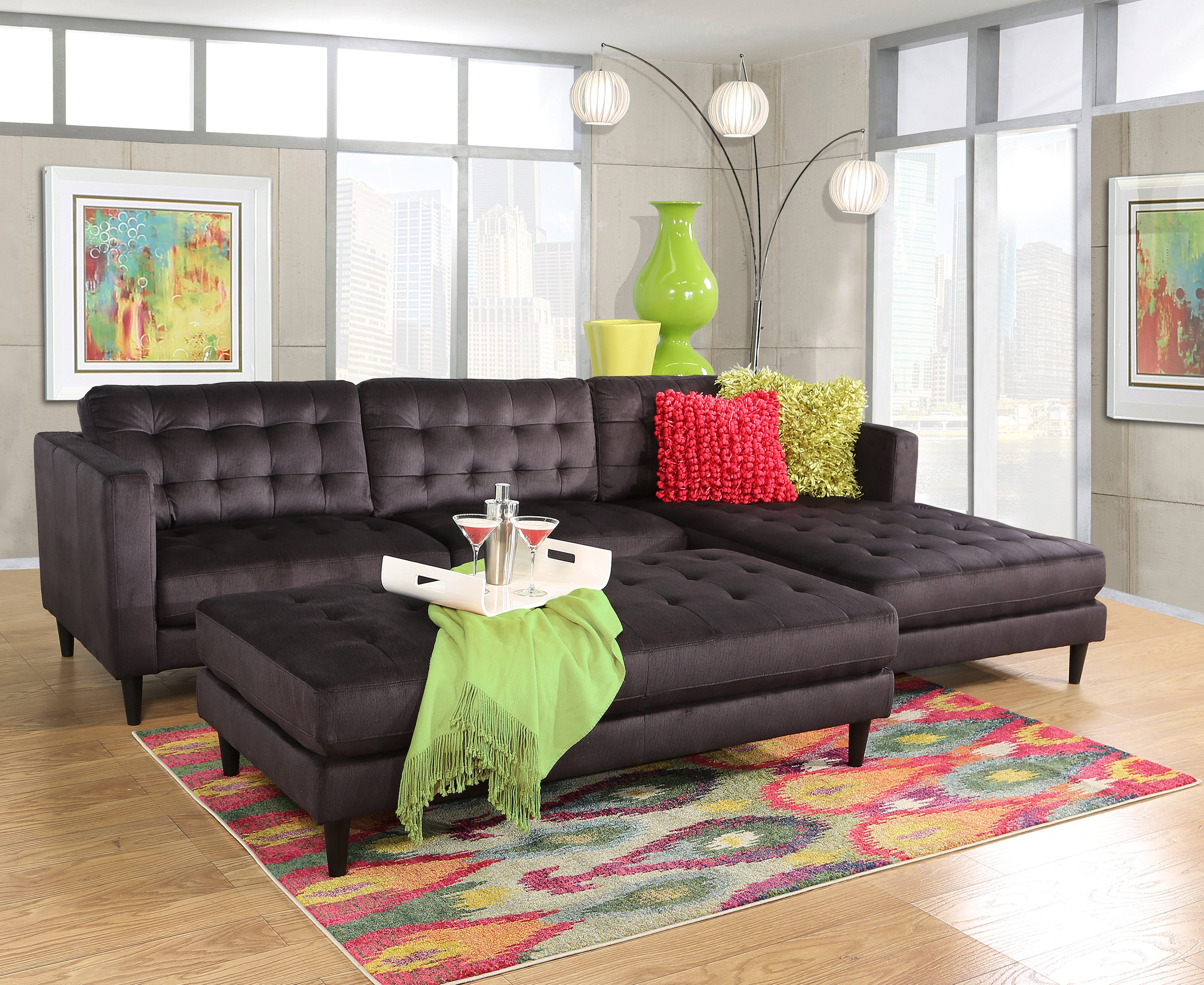 Athena 3 Piece Living Room