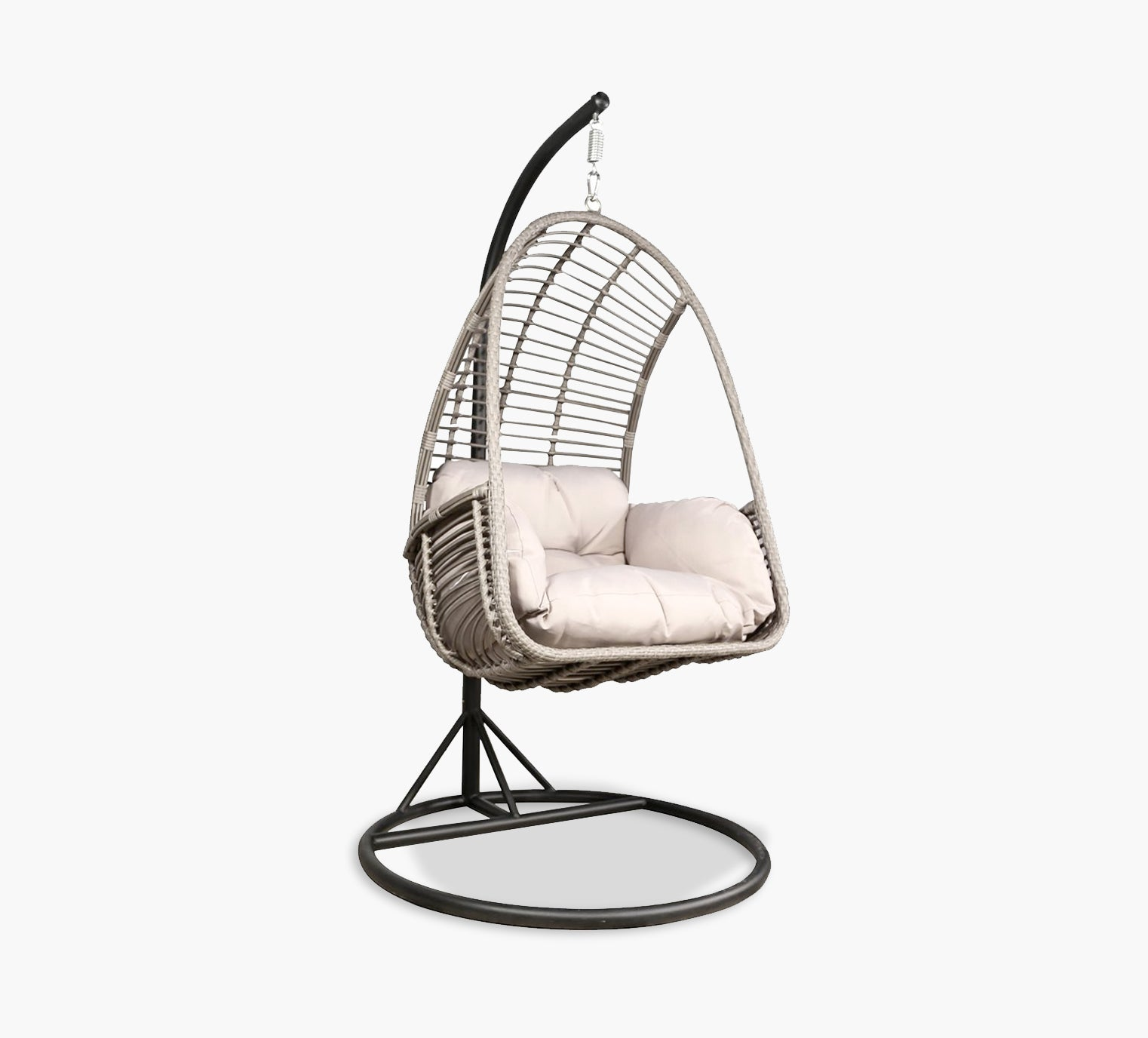 Picture of: Capella 3 Piece Outdoor Hanging Chair Kane S Furniture