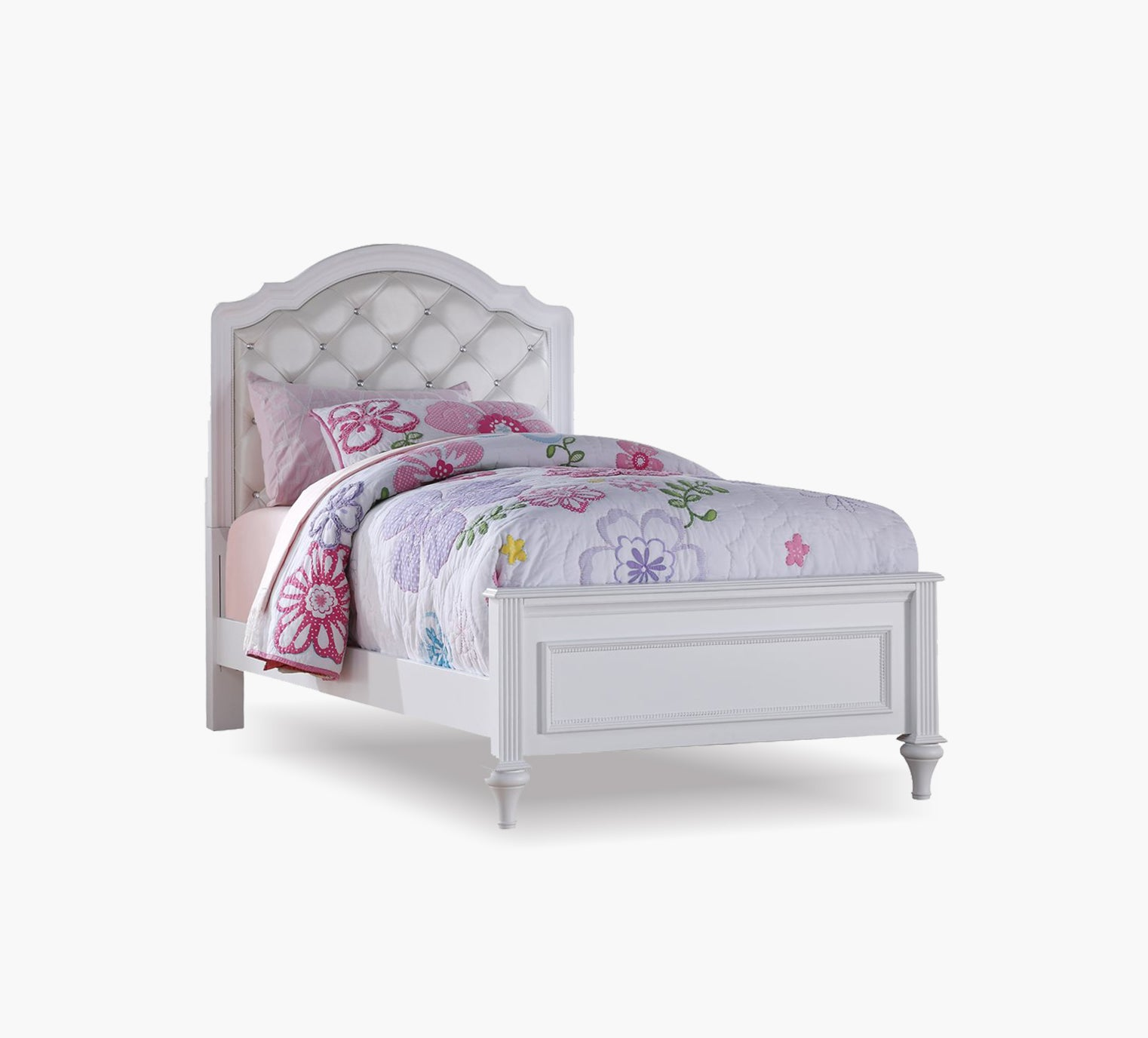 Picture of: Chantilly Twin Upholstered Bed Kane S Furniture