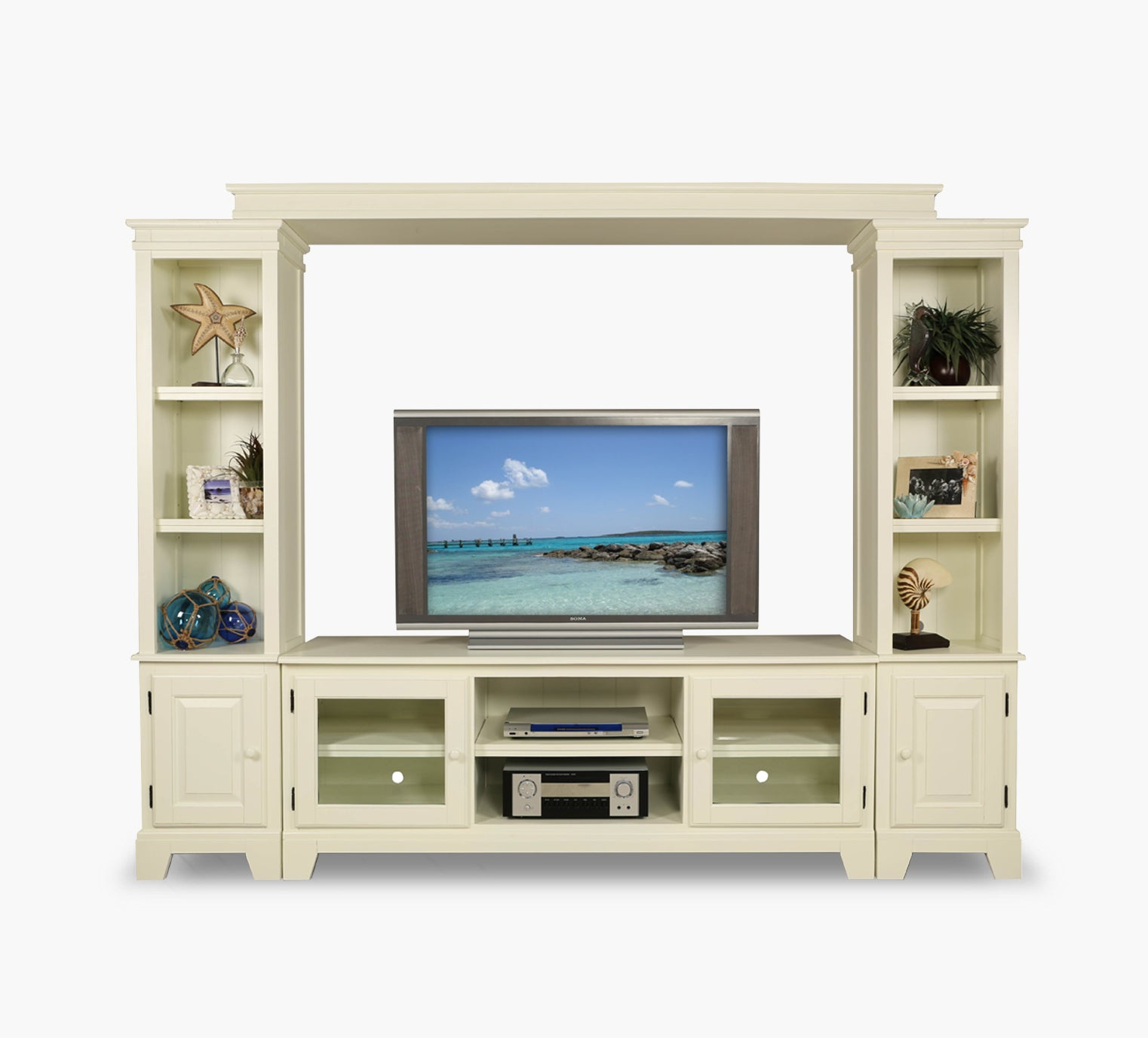 Crescent Bay Ii 3 Piece Wall Unit Kane S Furniture