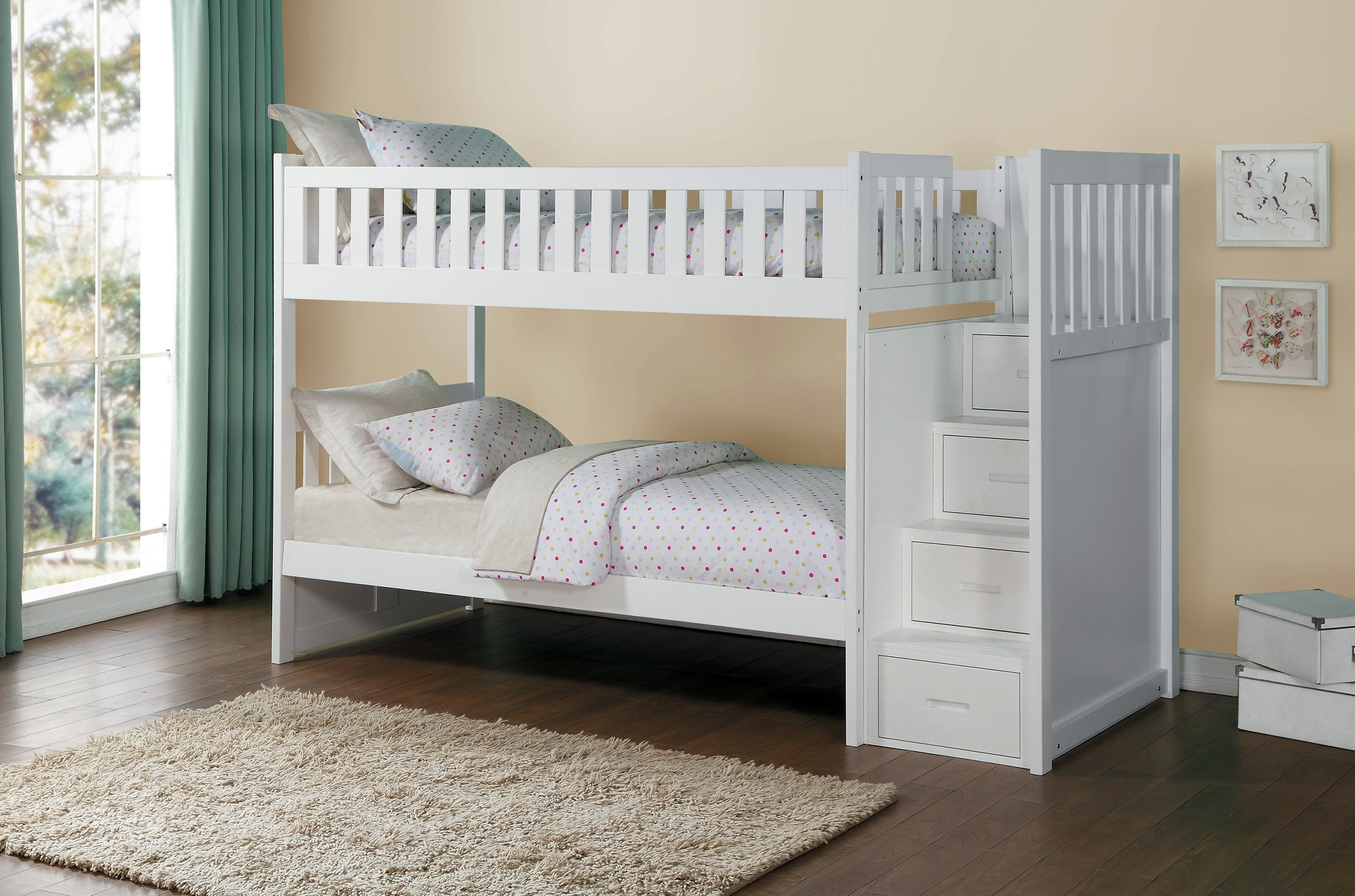 Bunk Beds White With Storage Cheaper Than Retail Price Buy Clothing Accessories And Lifestyle Products For Women Men