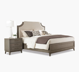 Prime Halston King Upholstered Panel Bed Caraccident5 Cool Chair Designs And Ideas Caraccident5Info