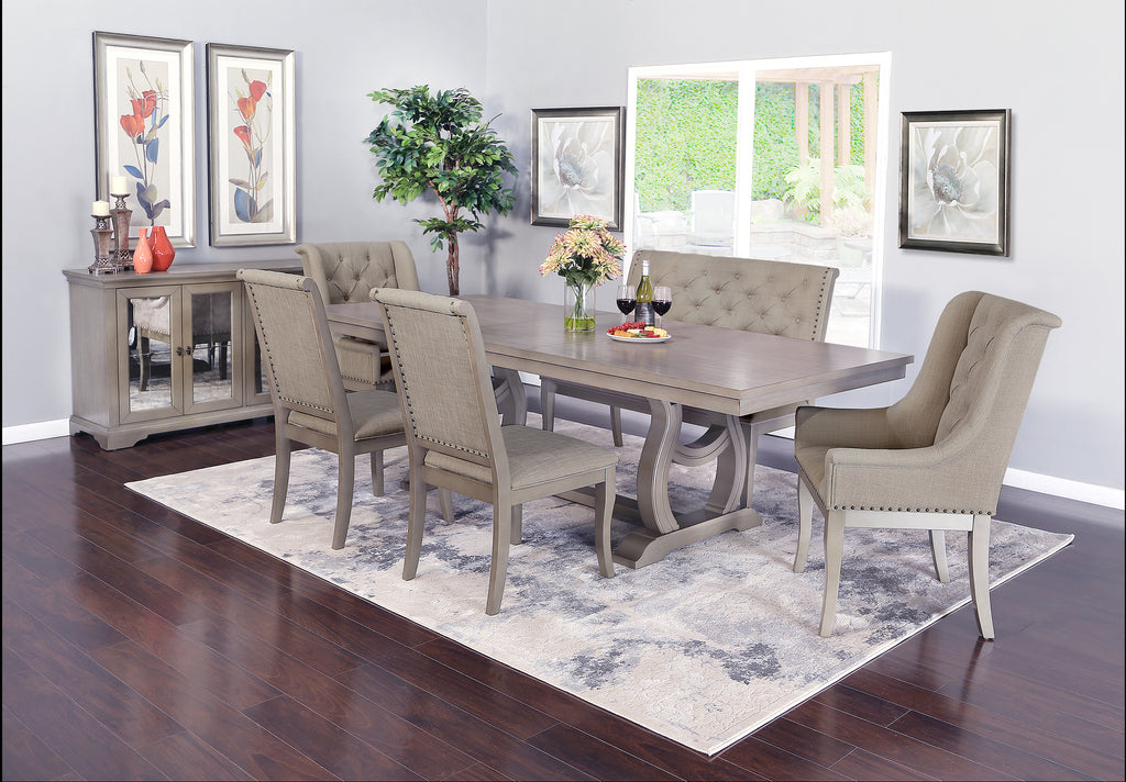 Marcelle 5 Piece Dining Set Kane S Furniture