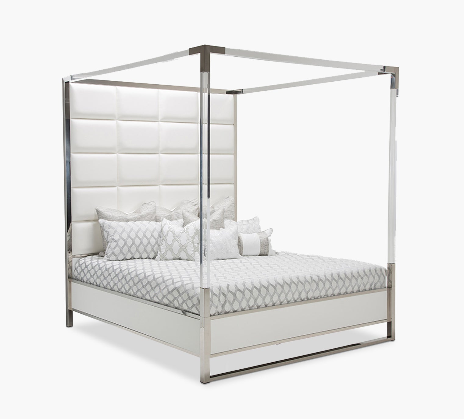 Picture of: State Street Queen Canopy Bed Kane S Furniture