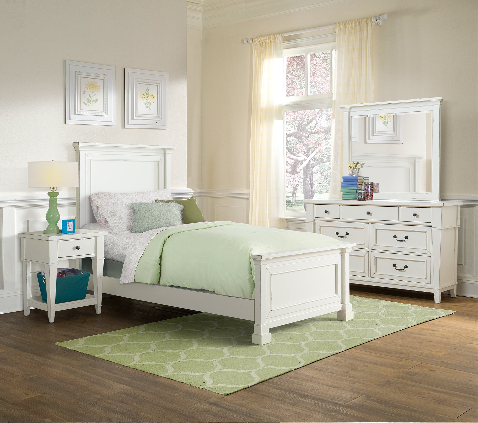 Stoney Creek Youth 6 Piece Twin Bed Collection Kane S Furniture