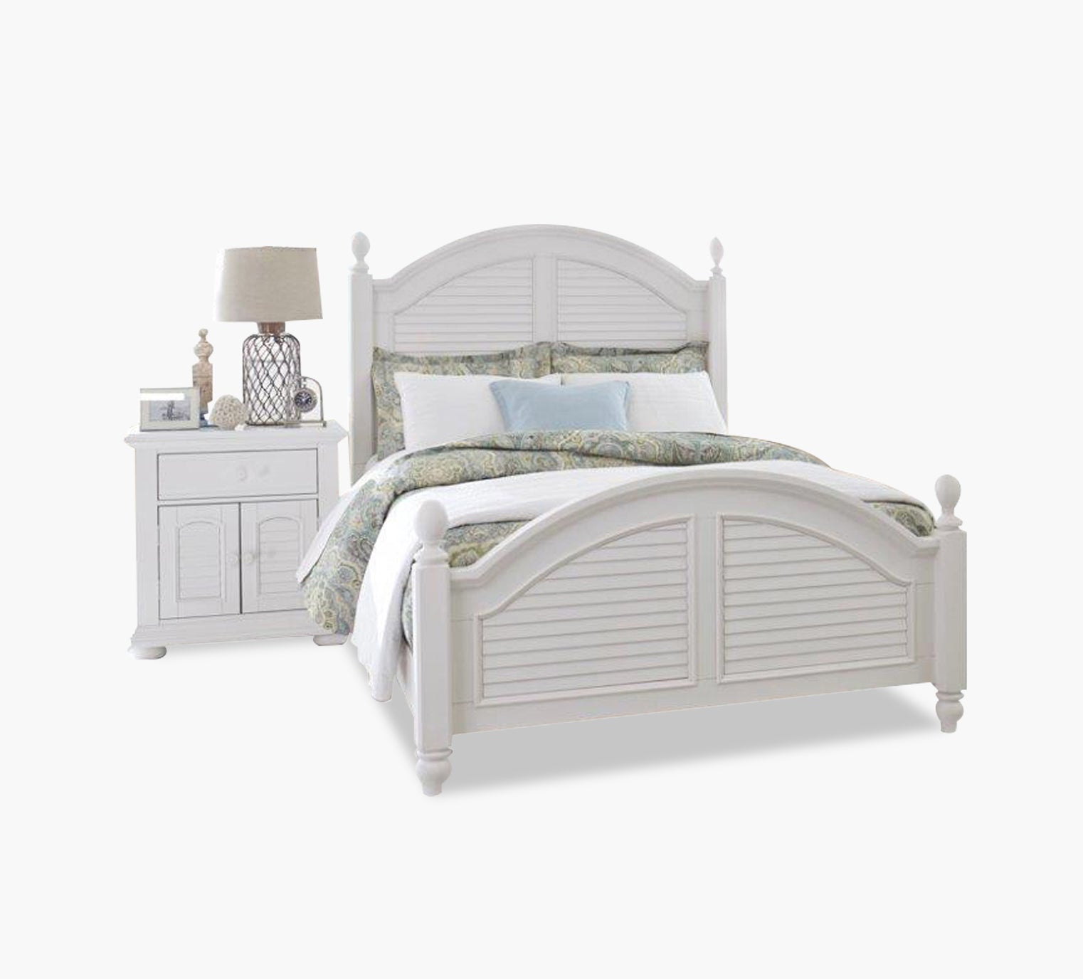 Picture of: Summer House Queen Poster Bed Kane S Furniture