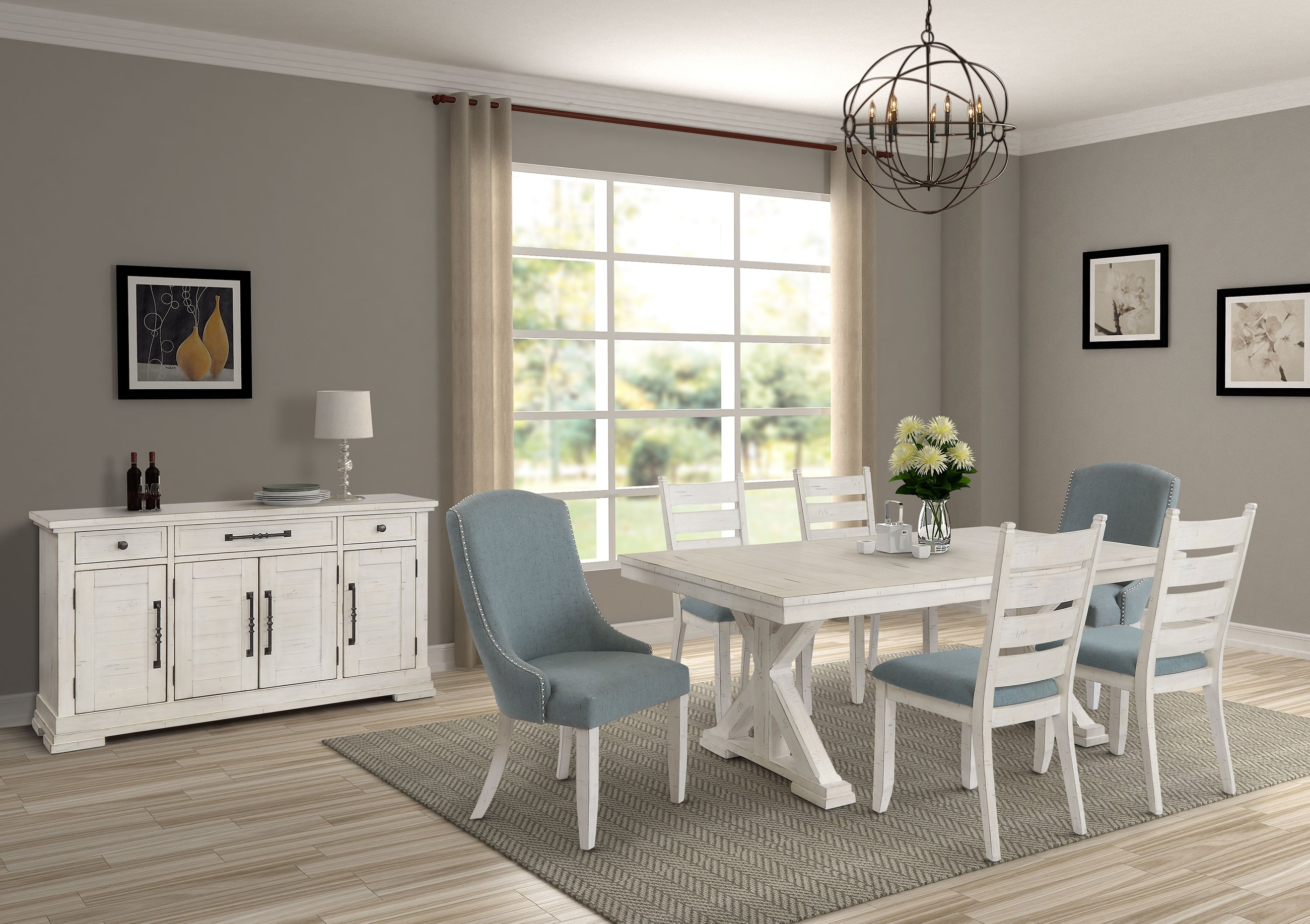 Trina 5 Piece Dining Set Kane S Furniture