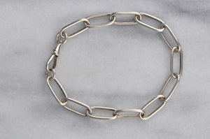 Antique French Unisex Trombone Bracelet