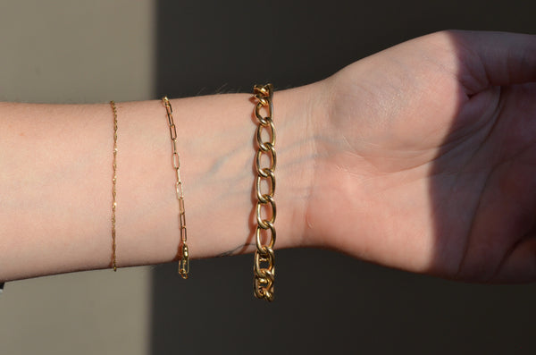 Warm Edwardian Gold Fill Bracelet