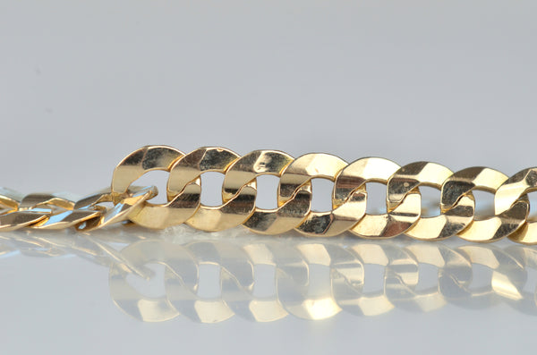 Shimmering Estate Curb Bracelet