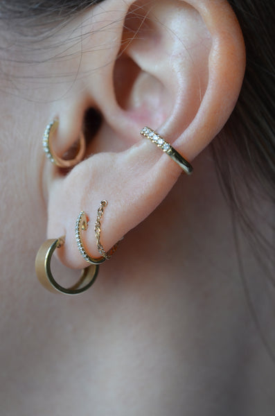 Perfect Everyday Vintage Gold Hoops