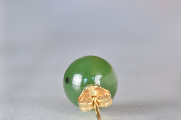 Lush Estate Jade Studs