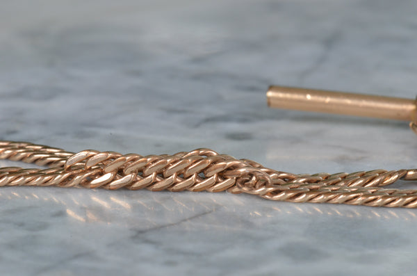Edwardian Gold-fill Watch Chain
