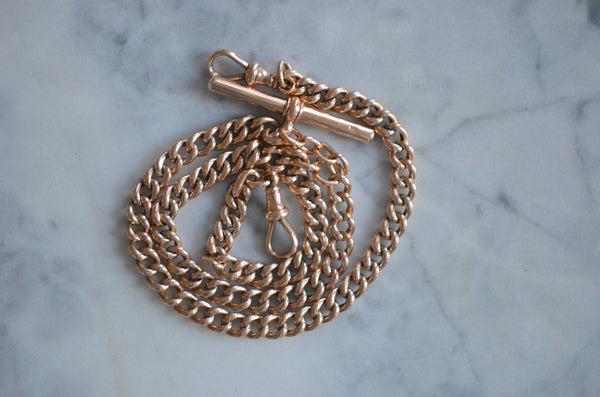 Chunky Victorian Watch Chain