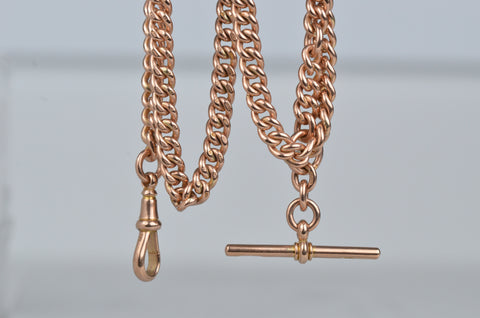 Incredible Heavy Antique Watch Chain