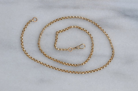 Workhorse Antique Gold Belcher Chain