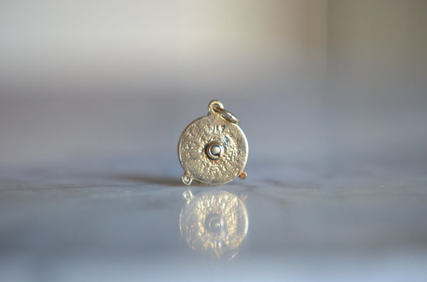 Playful Vintage Rotary Telephone Charm