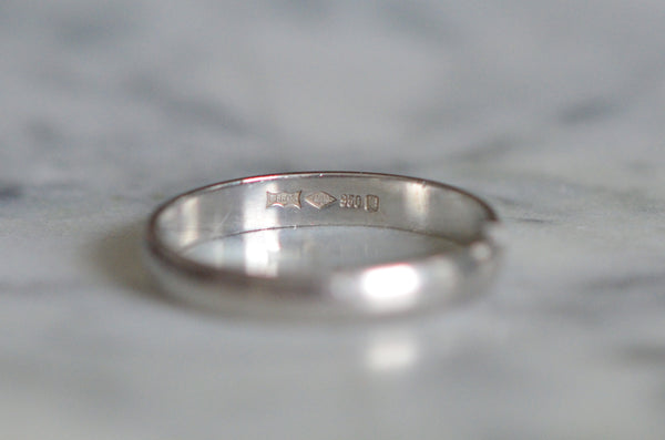 Timeless Platinum Wedding Band