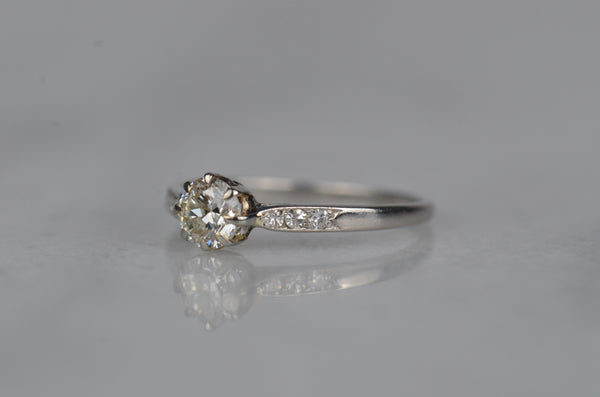 Daintiest Edwardian Engagement Ring