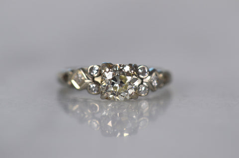 Superb Retro Engagement Ring
