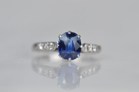 Exquisite Edwardian Sapphire Ring