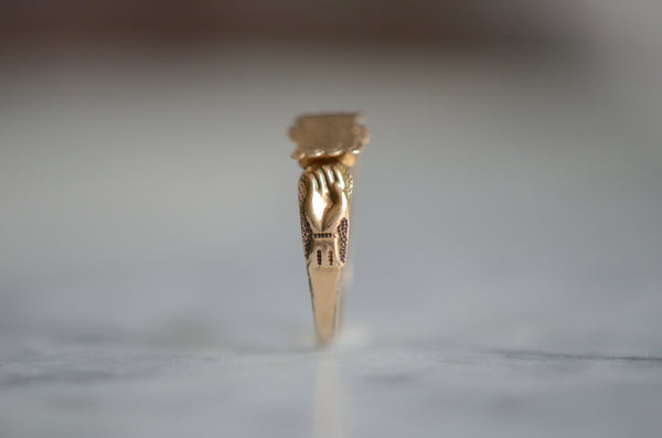 Distinctive Victorian Nameplate Ring