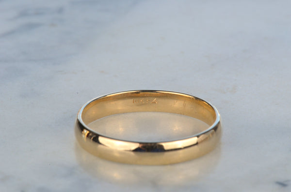 Classic Unisex Comfort Fit Estate Ring