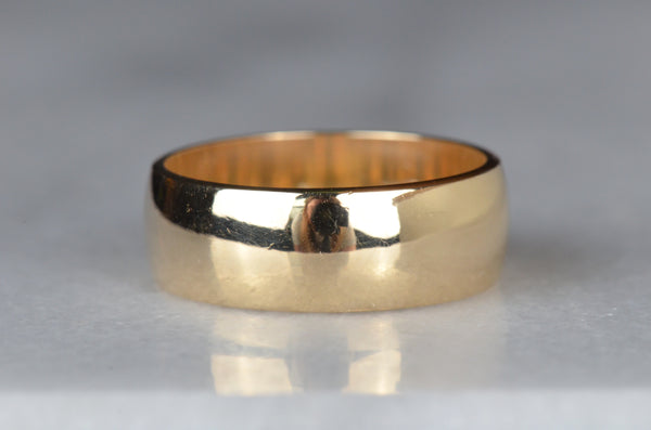 Chunky Estate Band Ring