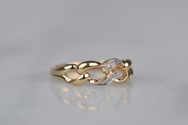 Glam Estate Chain Link Ring