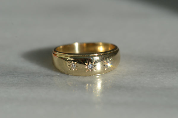 Classic Star-Set Trilogy Ring