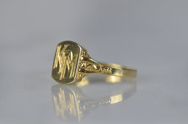 Easy Vintage Signet Ring KPM