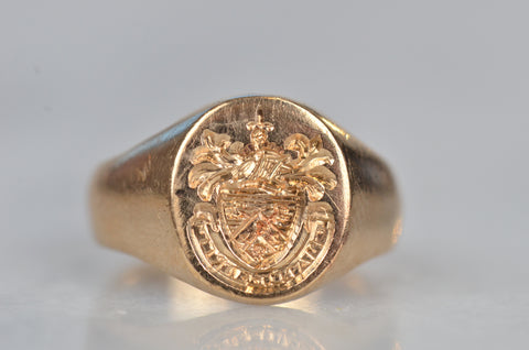 Clan MacKay Coat of Arms Vintage Signet