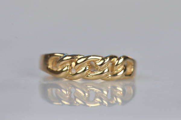 Sexy Vintage Chain Link Ring
