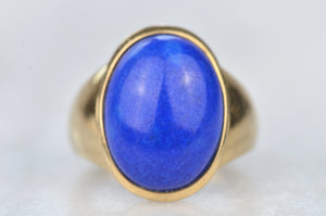 Eye-Catching Estate Lapis Ring