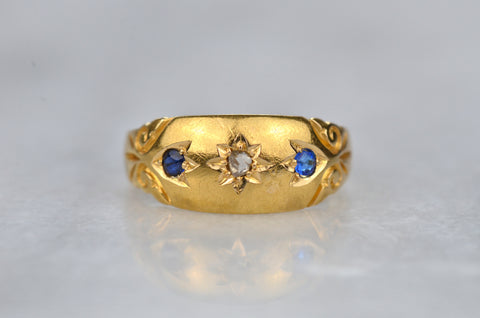 Rich Vintage Star Set Ring
