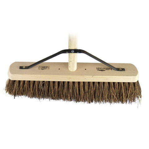 "18"" Poly / Bass Broom - Bee Equipment"