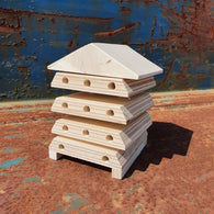 Paint Your Own Wooden Bee House - Pack Of 2