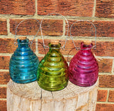 Glass Wasp Traps - Brightly Coloured