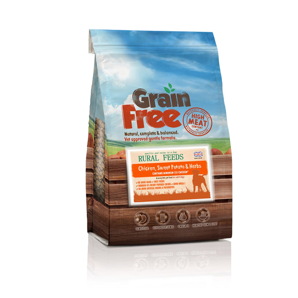 Rural Feeds Chicken, Sweet Potato & Herb Dog Feed