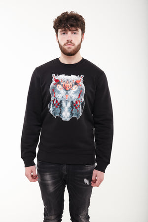 Owl Jumper (Black)