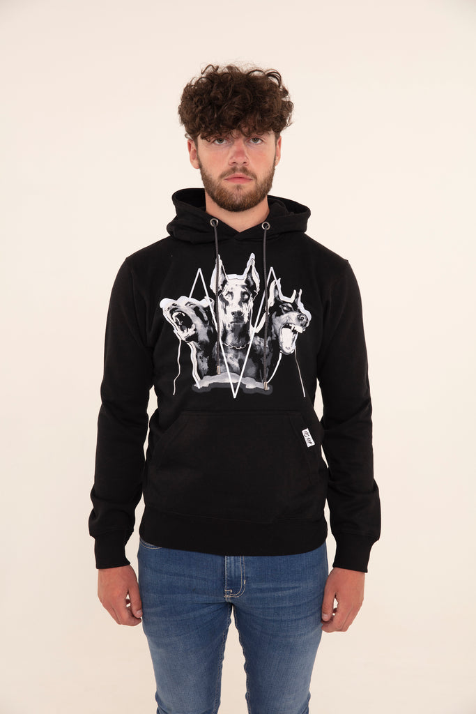 Limited Edition: Cerberus Hoodie (Black & White)