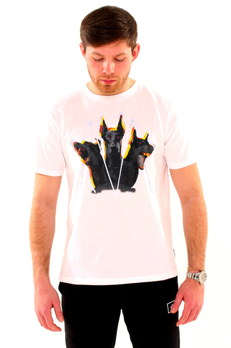 Cerberus T-Shirt (White) (New)