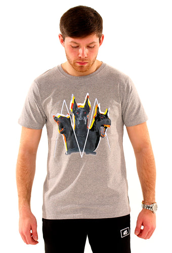 Cerberus T-Shirt (Grey) (New)